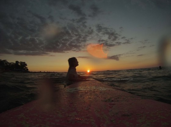 Sunset surf <3